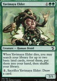 Yavimaya Elder - Commander 2018