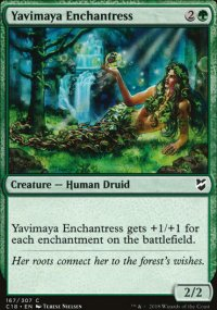 Yavimaya Enchantress - Commander 2018