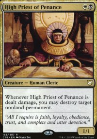 High Priest of Penance - Commander 2018