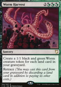 Worm Harvest - Commander 2018