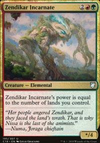 Zendikar Incarnate - Commander 2018