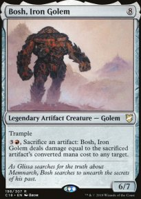 Bosh, Iron Golem - Commander 2018
