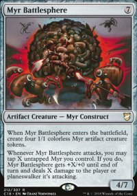 Myr Battlesphere - Commander 2018