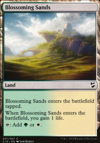 Blossoming Sands - Commander 2018