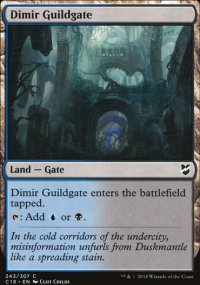Dimir Guildgate - Commander 2018