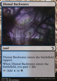 Dismal Backwater - Commander 2018