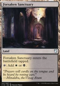 Forsaken Sanctuary - Commander 2018
