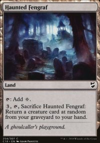 Haunted Fengraf - Commander 2018