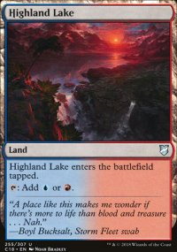 Highland Lake - Commander 2018