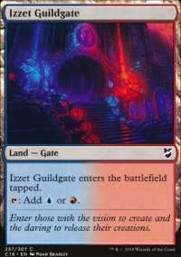 Izzet Guildgate - Commander 2018