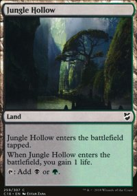 Jungle Hollow - Commander 2018