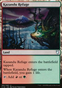 Kazandu Refuge - Commander 2018