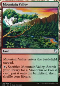 Mountain Valley - Commander 2018