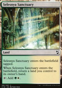 Selesnya Sanctuary - Commander 2018