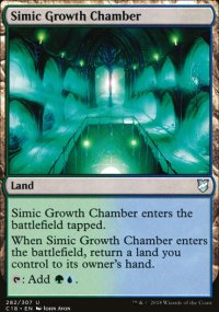 Simic Growth Chamber - Commander 2018