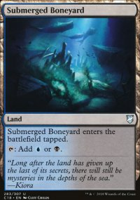Submerged Boneyard - Commander 2018