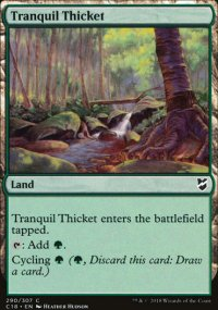 Tranquil Thicket - Commander 2018