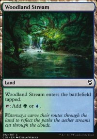 Woodland Stream - Commander 2018