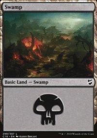 Swamp 1 - Commander 2018