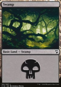 Swamp 3 - Commander 2018