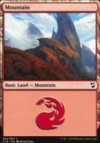Mountain 3 - Commander 2018