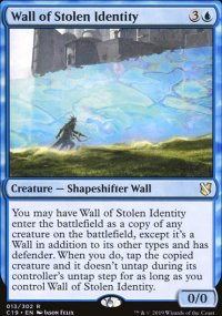 Wall of Stolen Identity -