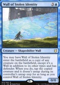 Wall of Stolen Identity - Commander 2019