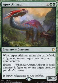Apex Altisaur - Commander 2019