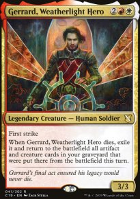 Gerrard, Weatherlight Hero - Commander 2019