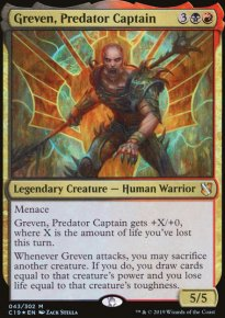 Greven, Predator Captain - Commander 2019