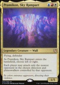 Pramikon, Sky Rampart - Commander 2019