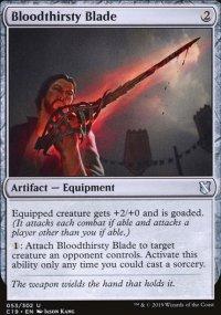 Bloodthirsty Blade - Commander 2019