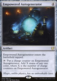 Empowered Autogenerator - Commander 2019