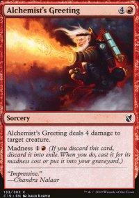 Alchemist's Greeting -