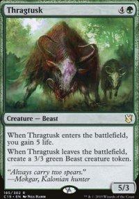 Thragtusk - Commander 2019