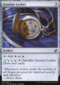 Azorius Locket -