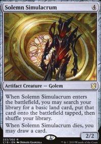 Solemn Simulacrum - Commander 2019