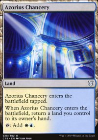Azorius Chancery - Commander 2019
