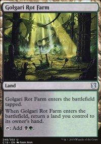 Golgari Rot Farm - Commander 2019