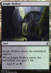 Jungle Hollow - Commander 2019