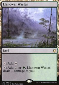 Llanowar Wastes -