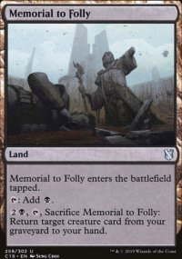 Memorial to Folly -