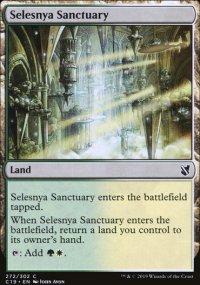 Selesnya Sanctuary - Commander 2019