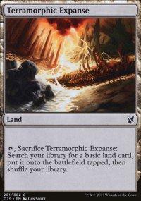 Terramorphic Expanse - Commander 2019