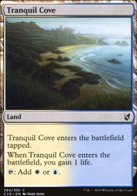 Tranquil Cove - Commander 2019