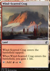 Wind-Scarred Crag -