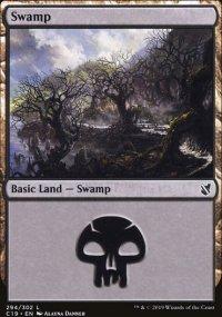 Swamp 1 - Commander 2019