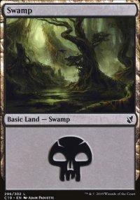 Swamp 3 - Commander 2019