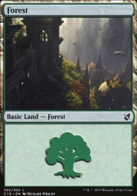 Forest 3 - Commander 2019
