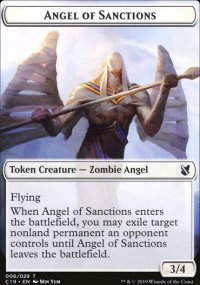 Angel of Sanctions Token -